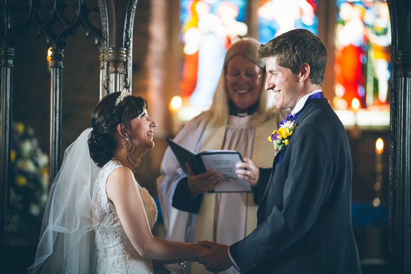 Kester and Lyndsey get to see each other in the church