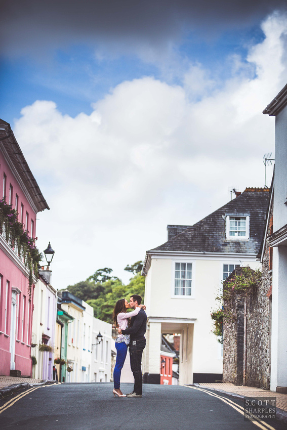 wedding pre-shoot by Scott Sharples, Cornwall wedding photographer at St Elizabeth's House, Plympton