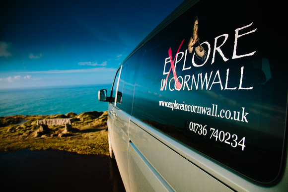 VW transport for clients booking with Explore in Cornwall