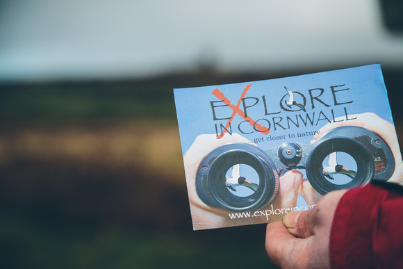 Flyer shot for Explore in Cornwall