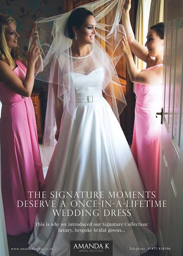 The Amanda K advert as featured in Cornwall WED Magazine issue 28 2014